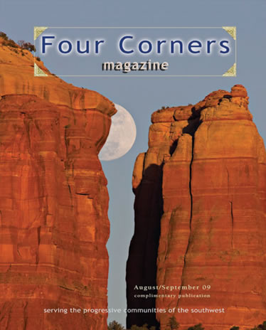 four corners magazine cover
