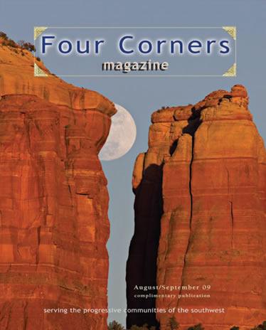 four corners magazine cover