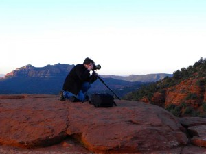 photographer on sedona tour